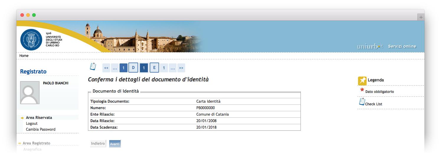 immatricolazioni e iscrizioni online - guida online